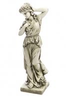Lady patsas kukkaseppele