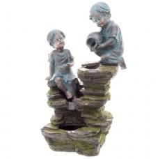 Suihkukaivo Tyttö ja poika
