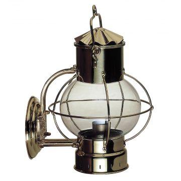 Globe Lamp 7'' seinäkannattimella, messinki