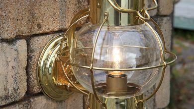 Globe Lamp 7'' seinäkannattimella