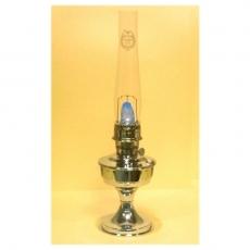 Aladdin jalallinen pöytälamppu, kromattu