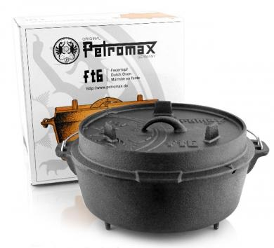 Petromax valurautapata ft6 jaloilla (7,6 L)