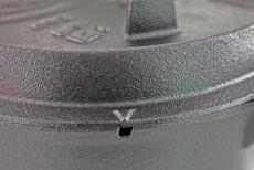 Petromax valurautapata ft6 (7,6 L)