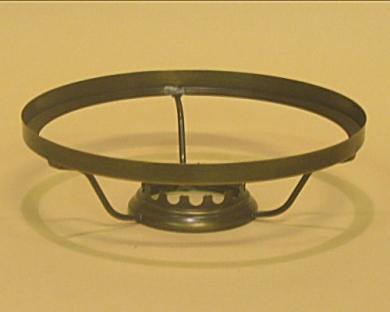 14'''/15''' - 180 mm clip-on kuvunkannatin, patinoitu
