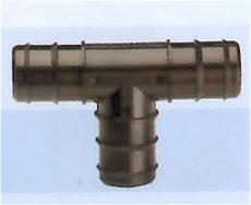 T-haara 13 mm letkuliittimillä