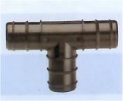 T-haara 32 mm letkuliittimillä