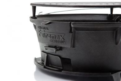 Petromax TG3 valurautagrilli, yksityiskohta