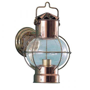 Globe Lamp 7'' seinäkannattimella, kupari